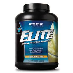 Elite Whey Protein, 5 Pounds, Rich Chocolate Flavor 705016560073