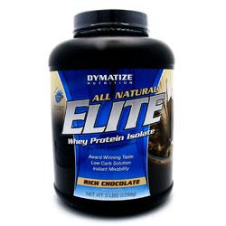 All Natural Elite Whey, 5 Pounds, Rich Chocolate Flavor 705016556014