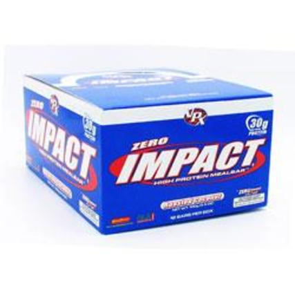 VPX Sports Zero Impact Bars High Protein, 12 Bars