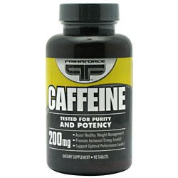 Caffeine 200 mg., 90 Tablets 181030000045