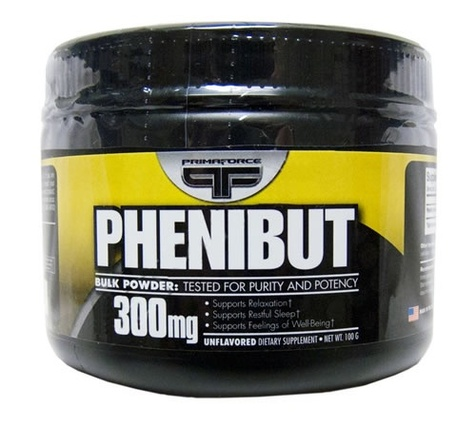 Phenibut 300 mg. per serving