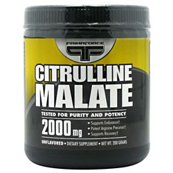 Citrulline Malate 2000 mg., 200 Grams 811445020115