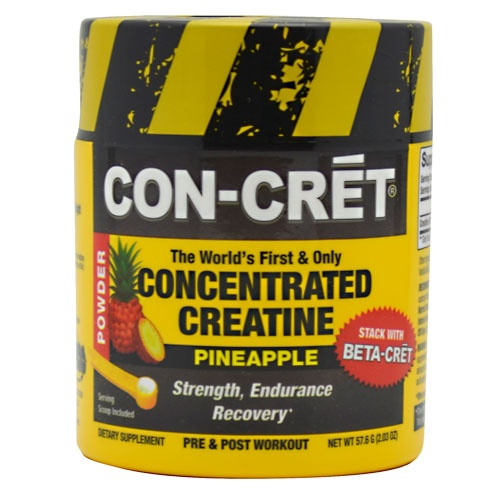 Con-Cret Concentrated Creatine, 48 Servings, Blue Raspberry Flavor 682676702480
