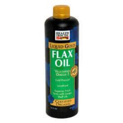 Health From The Sun Flax Liquid Gold, 16 Fluid Ounces