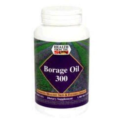 Health From The Sun Borage Oil 300 mg., 60 Capsules