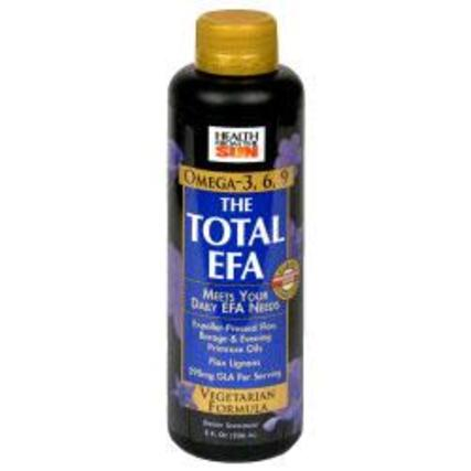 Health From The Sun Total EFA Vegetarian Liquid, 8 Fluid Ounces