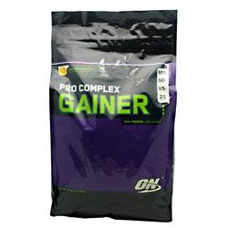 PRO COMPLEX GAINER, 10 Pounds, Strawberries & Cream Flavor 748927029789