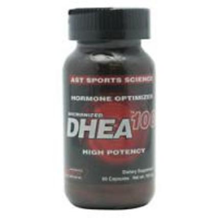 AST Micronized DHEA 100 mg.