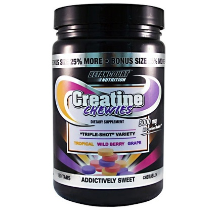Betancourt Nutrition Creatine Chewies, 160 Chewables