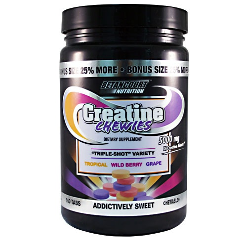 Creatine Chewies, 160 Chewables, Triple-Shot Variety Flavor 857487002122
