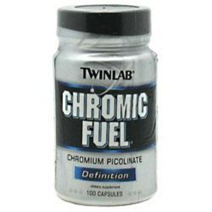 Twinlab CHROMIC FUEL, 100 Capsules