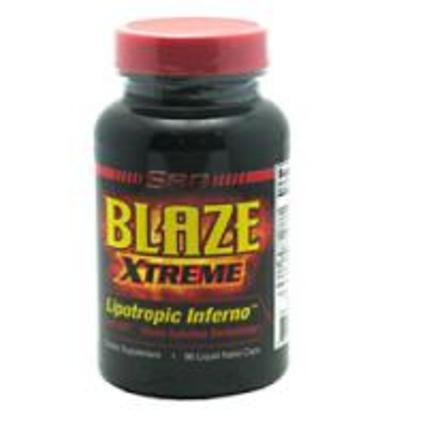 SAN Nutrition Blaze Xtreme, 96 Softgels