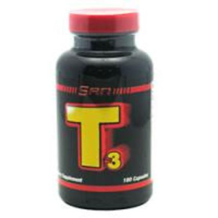 SAN Nutrition T-3, 180 Capsules