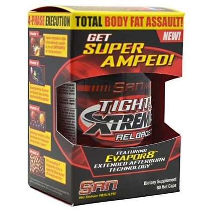 SAN Nutrition Tight! Xtreme Reloaded, 80 Capsules