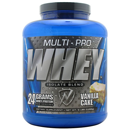 Multi Pro Whey Protein, 5 Pounds, Banana Flavor 675941001883