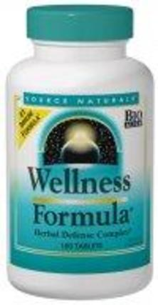 Source Naturals Wellness Formula - Herbal Defense, 180 Tablets
