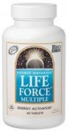 Source Naturals Life Force Multi No Iron, 60 Tablets