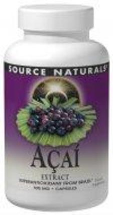 Source Naturals Acai Extract 500 mg., 60 Capsules