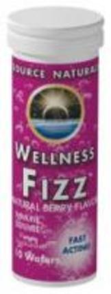 Source Naturals Wellness Fizz, 10 Waffers