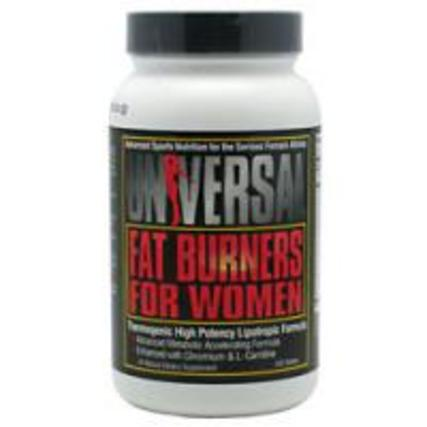 Universal Nutrition Fat Burner for Women, 120 Tablets
