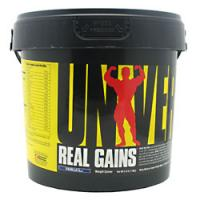 Real Gains Protein, 6.85 Pounds, Banana Milk Shake Flavor 039442012074