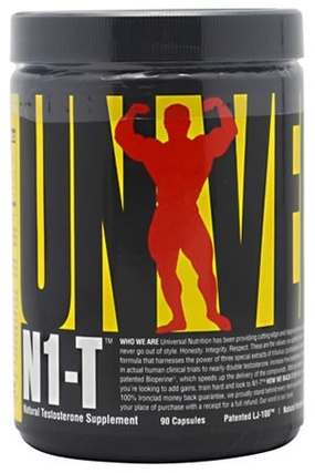 Universal Nutrition N1-T, 90 Capsules