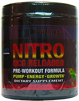 Nitro NCG, 277 Grams, Fruit Punch Flavor 830997001366
