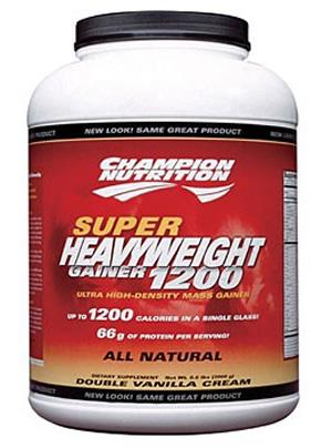 Champion Nutrition Super Heavyweight Gainer 1200, 6.6 Pounds
