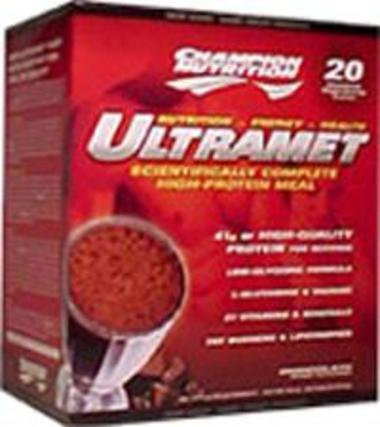Champion Nutrition UltraMet, 20 Packets