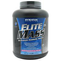 Elite Mass, 6 Pounds, Strawberries and Cream Flavor 705016338436