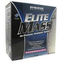 Elite Mass, 10 Pounds, Strawberries and Cream Flavor 705016338559