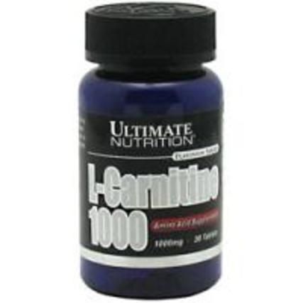Ultimate Nutrition L-Carnitine 1000, 30 Tablets