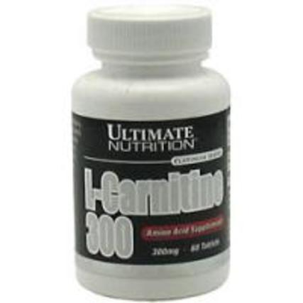 Ultimate Nutrition L-Carnitine 300, 60 Tablets