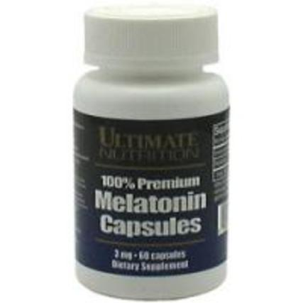 Ultimate Nutrition Melatonin, 60 Capsules