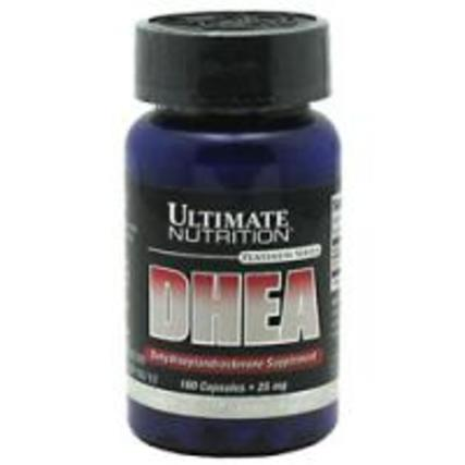 Ultimate Nutrition DHEA 25 mg., 100 Capsules