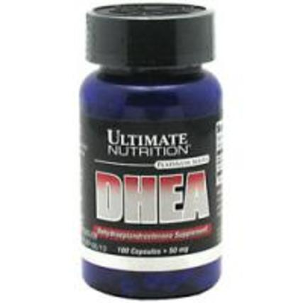 Ultimate Nutrition DHEA 50 mg., 100 Capsules
