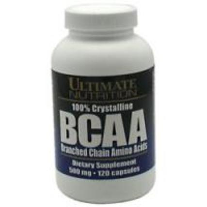 Ultimate Nutrition BCAA 500 mg., 120 Capsules