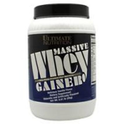 Ultimate Nutrition Massive Whey Gainer, 4.4 Pounds