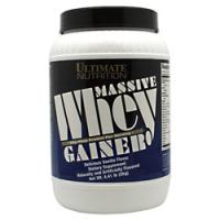 Massive Whey Gainer, 4.4 Pounds, Strawberry Flavor 099071002020
