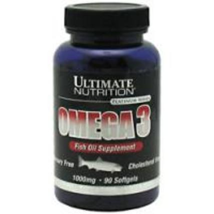 Ultimate Nutrition Omega-3, 90 Softgels