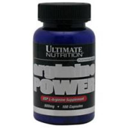 Ultimate Nutrition Arginine Power, 100 Capsules