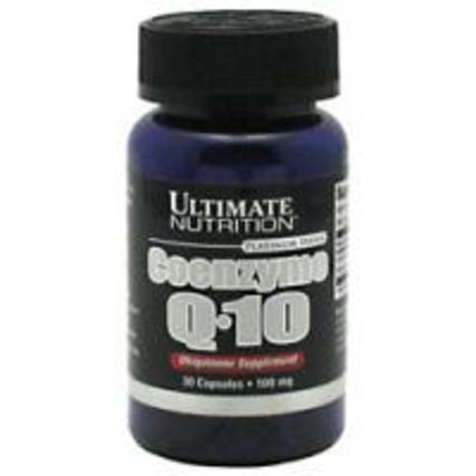 Ultimate Nutrition Coenzyme Q10, 30 Capsules