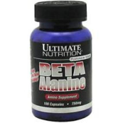 Ultimate Nutrition Beta Alanine, 100 Capsules