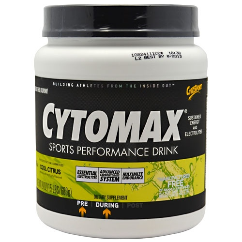 Cytomax, 1.5 Pounds, Cool Citrus Flavor 660726103104