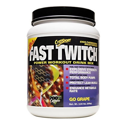 Cytosport Fast Twitch, 2.04 Pounds