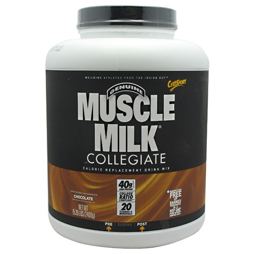 Muscle Milk Collegiate, 5.29 Pounds, Strawberries n Creme Flavor 660726563366