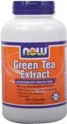 NOW Foods Green Tea Extract 400 mg. per capsule, 250 Capsules