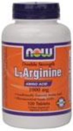 NOW Foods L-Arginine 1000 mg. per tablet, 120 Tablets