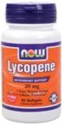 NOW Foods Lycopene Double Strength, 50 Softgels