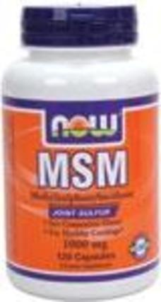 NOW Foods MSM, 120 Capsules